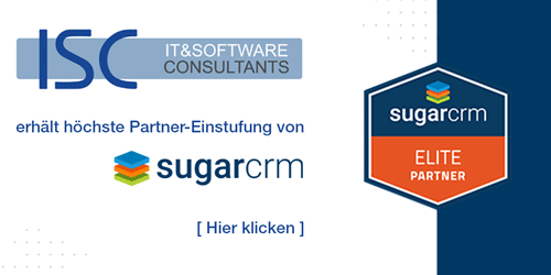 ISC wird SugarCRM Elite Partner