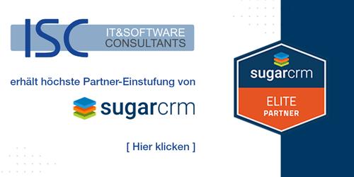ISC wird SugarCRM Elite Partner